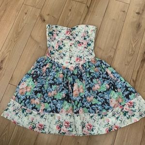 Not your grandmothers floral dress